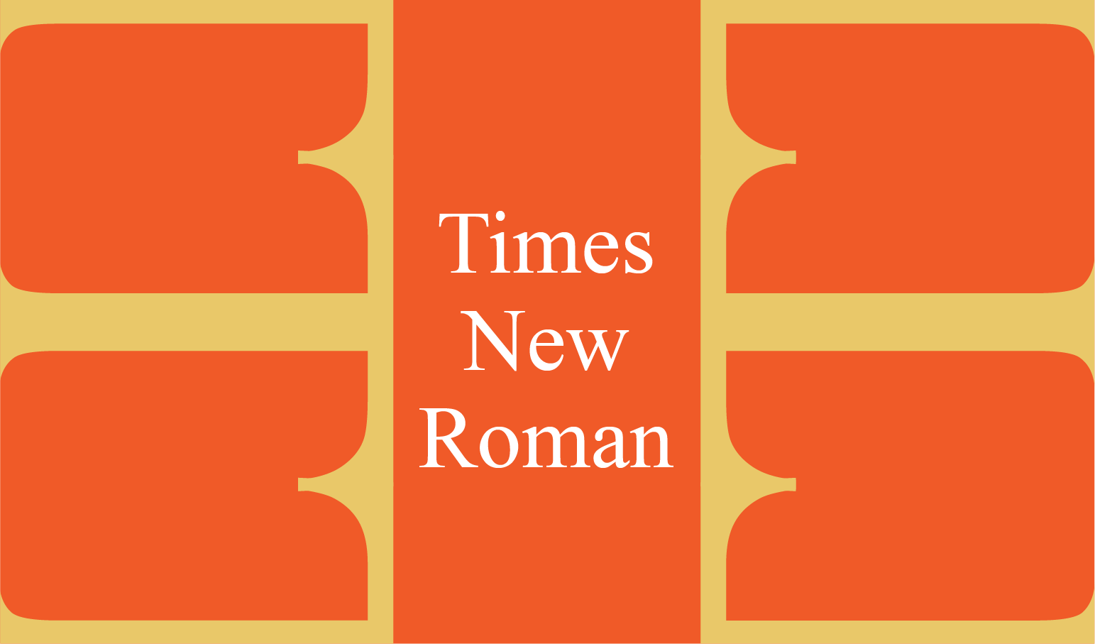 Times New Roman Article Banner